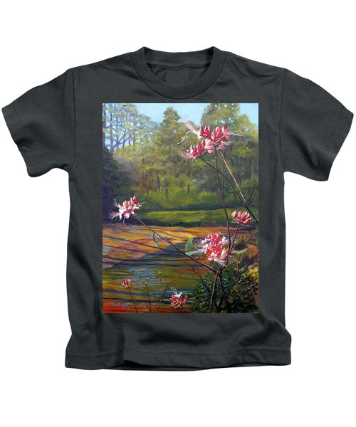 Spring Blooms On The Natchez Trace Kids T-Shirt