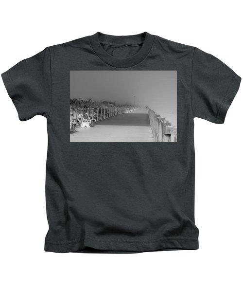 Spring Lake Boardwalk - Jersey Shore Kids T-Shirt