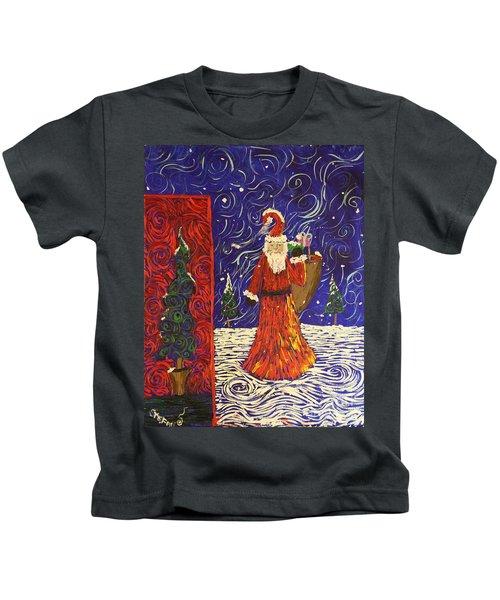 Squiggle Christmas Kids T-Shirt