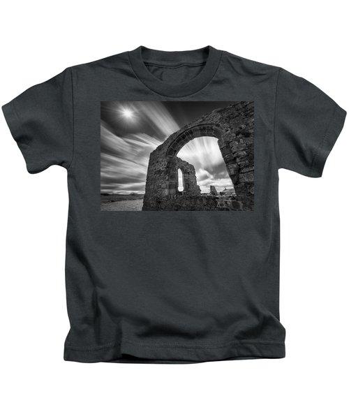 St Dwynwen's Church Kids T-Shirt
