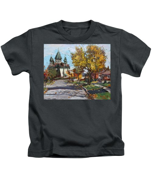 St. Marys Ukrainian Catholic Church Kids T-Shirt