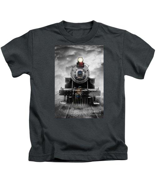 Steam Train Dream Kids T-Shirt