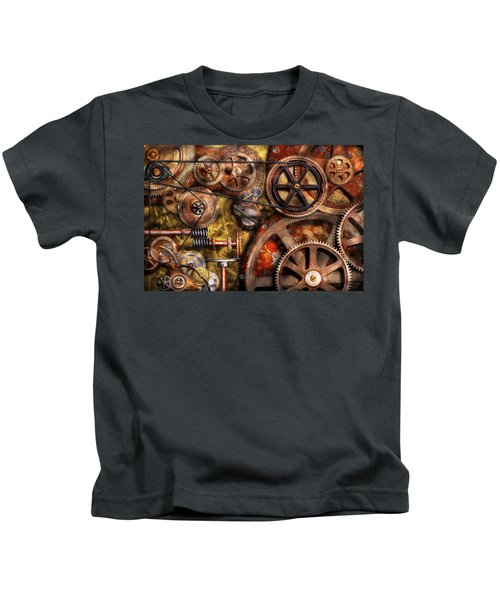 Steampunk - Gears - Inner Workings Kids T-Shirt