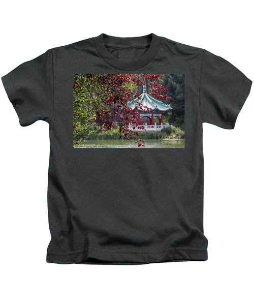 Stow Lake Pavilion Kids T-Shirt