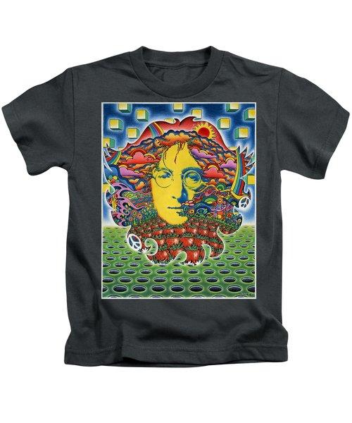 Strawberry Fields For Lennon Kids T-Shirt