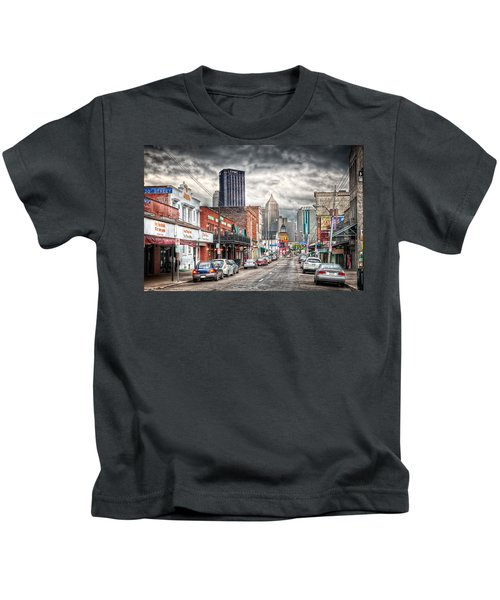 Strip District Pittsburgh Kids T-Shirt