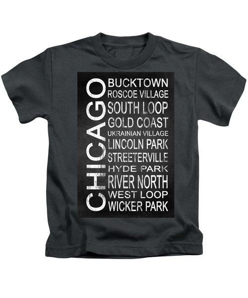 Subway Chicago 2 Kids T-Shirt