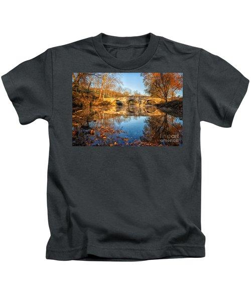 Sunrise At Burnside Kids T-Shirt
