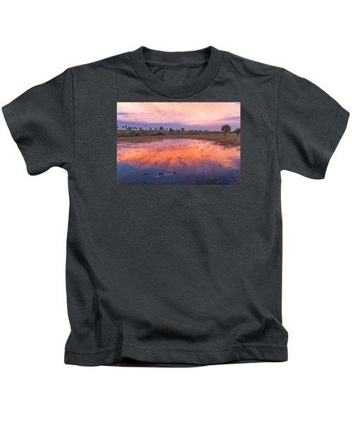 Everglades Afterglow Kids T-Shirt
