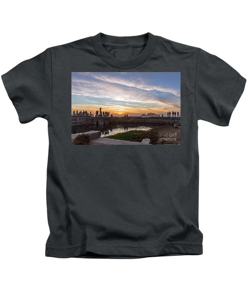 Sunset Party Kids T-Shirt