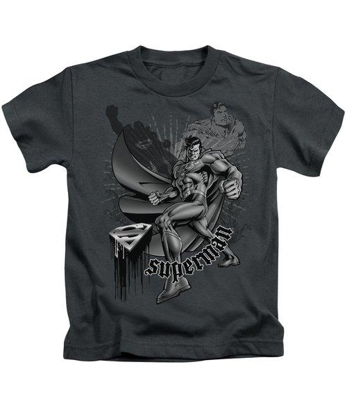 Superman - Fight And Flight Kids T-Shirt