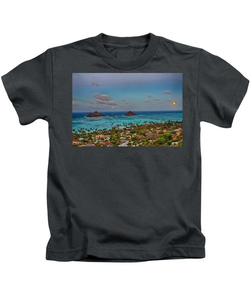 Supermoon Moonrise Kids T-Shirt