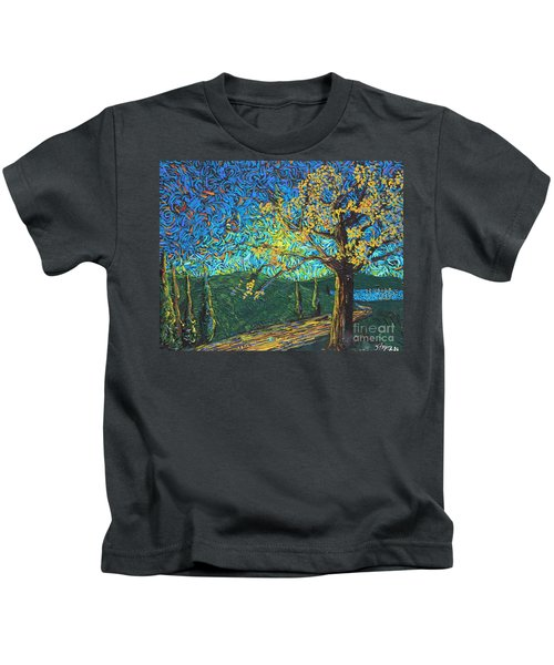 Swing By The Road Kids T-Shirt
