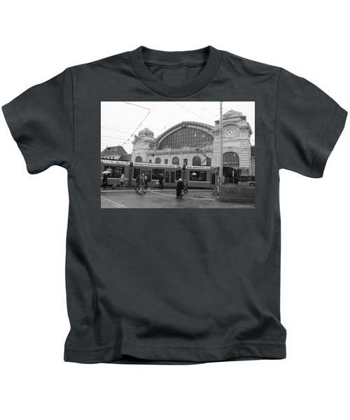 Swiss Railway Station Kids T-Shirt
