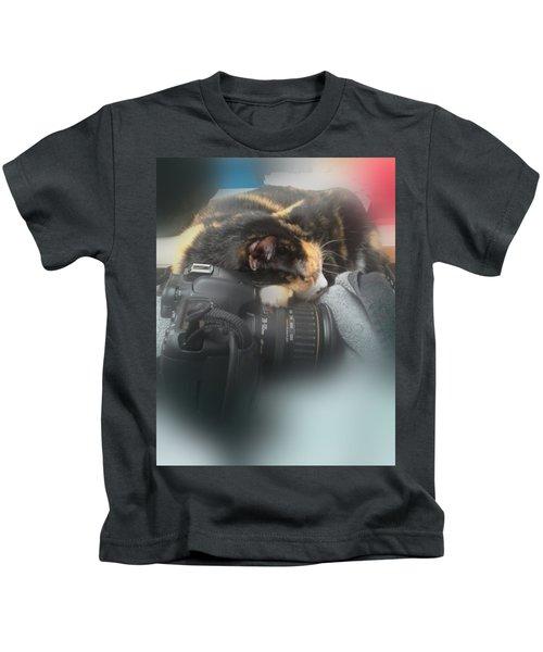 Taking A Break Kids T-Shirt