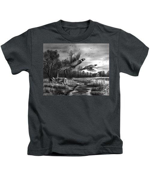 Taking Flight  Kids T-Shirt