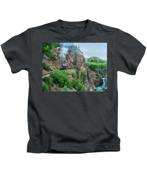 Taking The Highline Home Kids T-Shirt