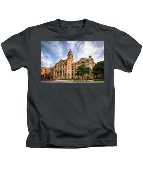Tarrant County Courthouse II Kids T-Shirt