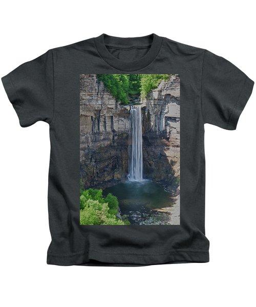 Taughannock Falls  0453 Kids T-Shirt
