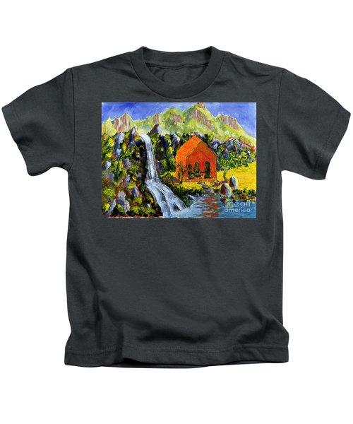 Tea Ceremony Kids T-Shirt