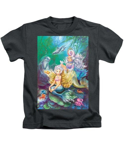 Teen Little Mermaid Kids T-Shirt