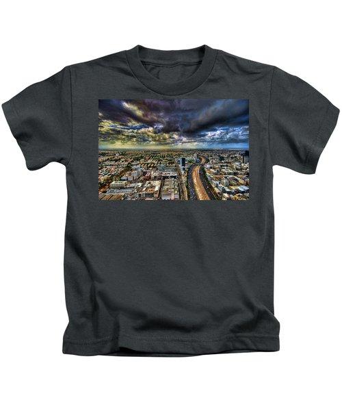 Tel Aviv Blade Runner Kids T-Shirt