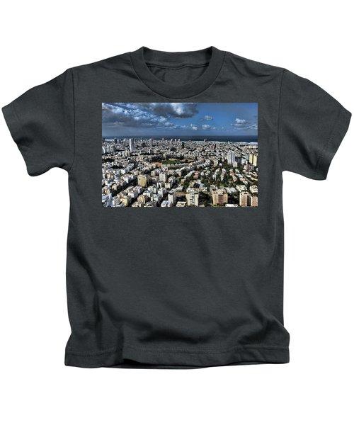 Tel Aviv Center Kids T-Shirt