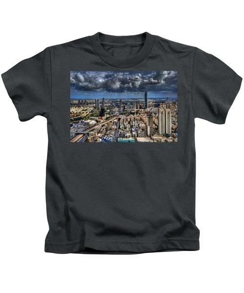 Tel Aviv Love Kids T-Shirt