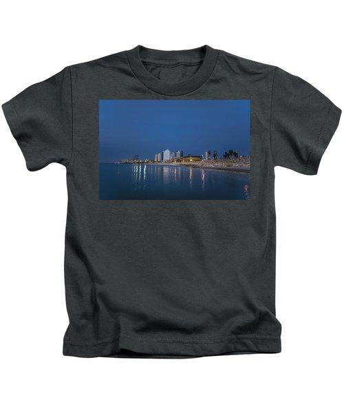 Tel Aviv The Blue Hour Kids T-Shirt