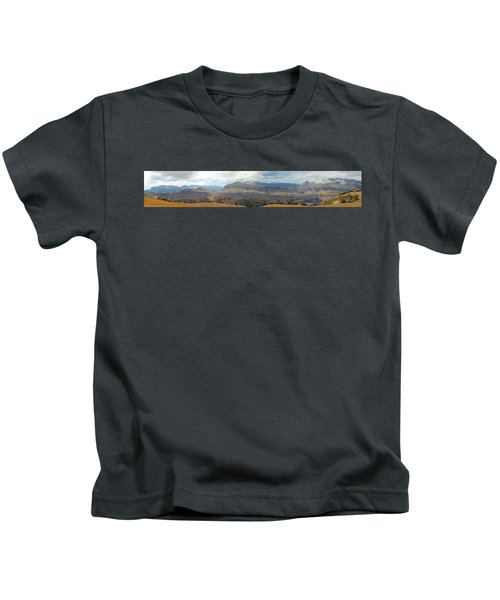 Teton Canyon Shelf Kids T-Shirt