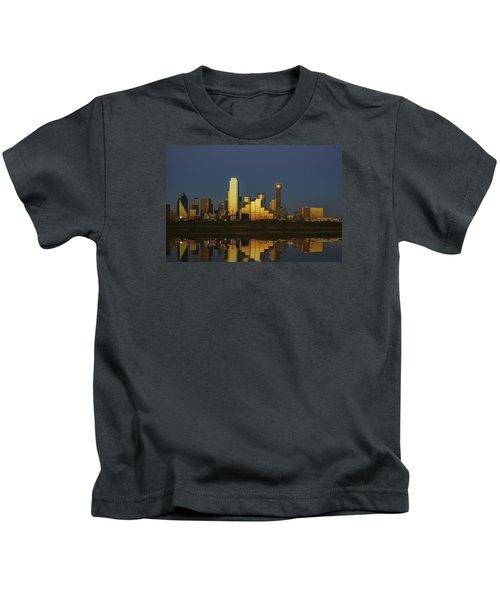Texas Gold Kids T-Shirt by Rick Berk
