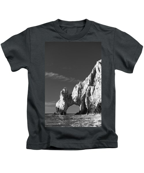 The Arch In Black And White Kids T-Shirt