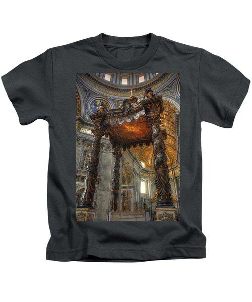 The Baldaccino Of Bernini Kids T-Shirt