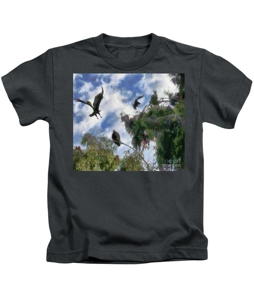 The Buzzard Tree Kids T-Shirt