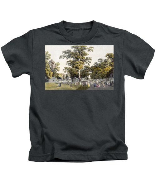 The Cafes In The Grand Avenue Kids T-Shirt