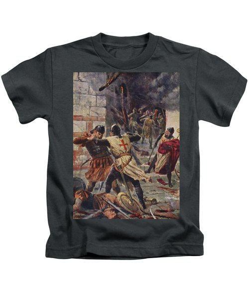The Capture Of Constantinople Kids T-Shirt