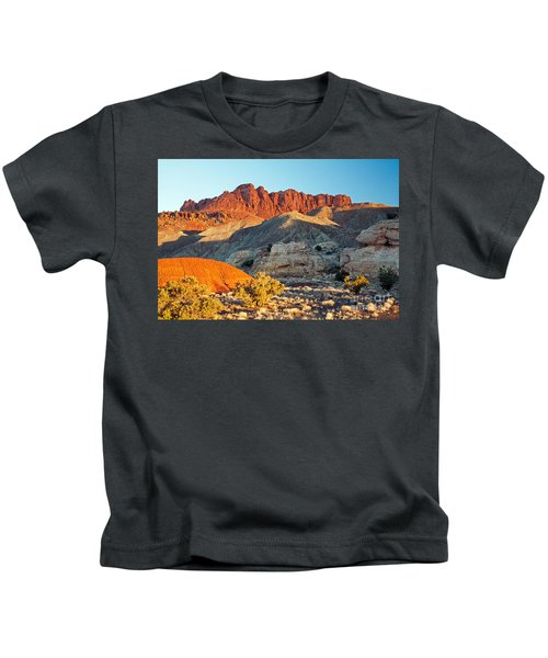 The Castle Capitol Reef National Park Kids T-Shirt