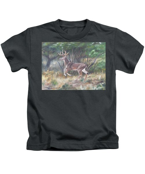 The Chase Is On Kids T-Shirt