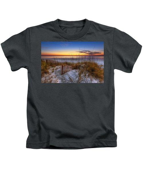 The Dunes At Sunset Kids T-Shirt
