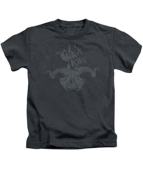 The Hobbit - Golin King Symbol Kids T-Shirt