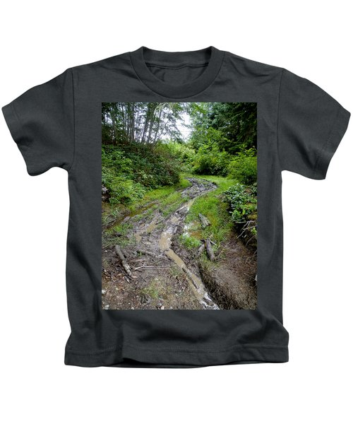The Ledge Point Trail Kids T-Shirt