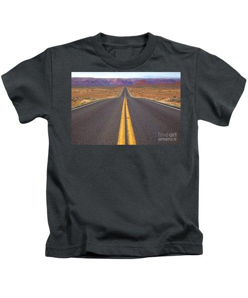 The Long Road Ahead Kids T-Shirt
