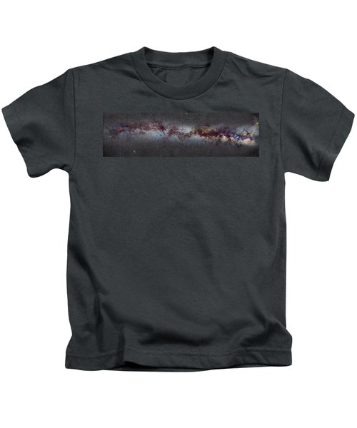 The Milky Way From Scorpio And Antares To Perseus Kids T-Shirt