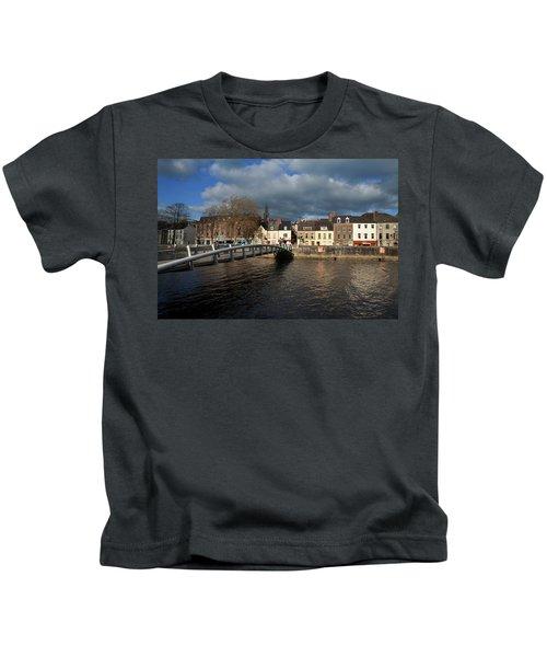 The Millenium Foot Bridge With St Annes Kids T-Shirt