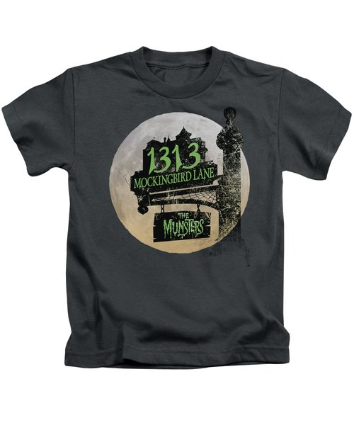 The Munsters - Moonlit Address Kids T-Shirt