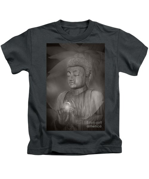 The Path Of Peace Kids T-Shirt