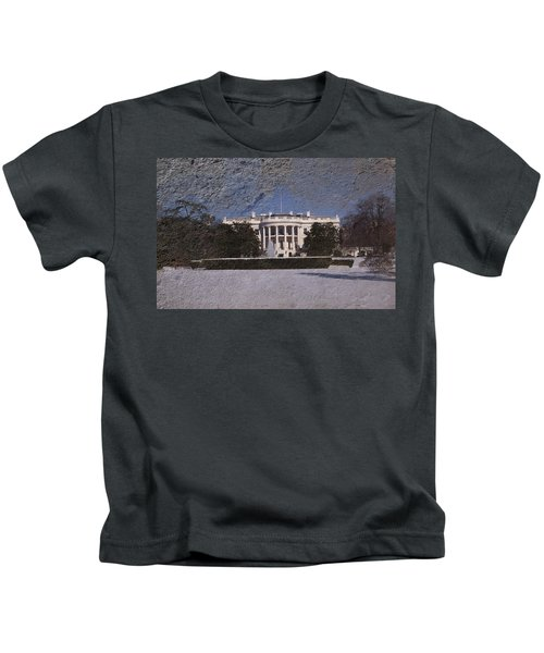 The Peoples House Kids T-Shirt by Skip Willits