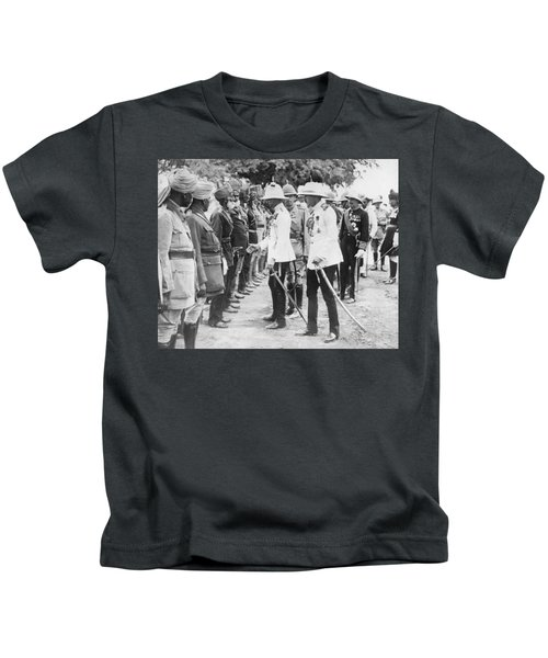 The Prince Of Wales In India Kids T-Shirt