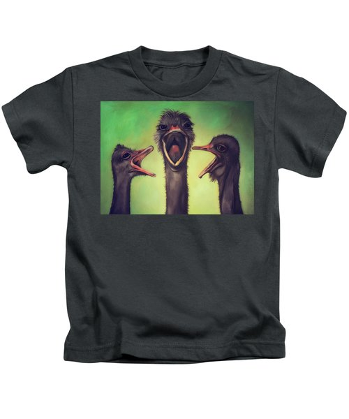 The Singers Kids T-Shirt by Leah Saulnier The Painting Maniac