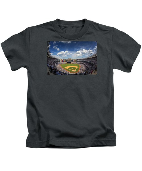 The Stadium Kids T-Shirt by Rick Berk